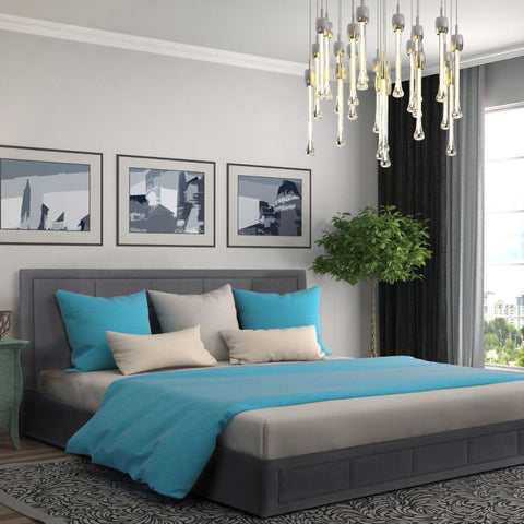 Italian Style Lift Up Double or King Sized Bed Frame