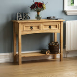 Solid Pine Wood Hallway Table