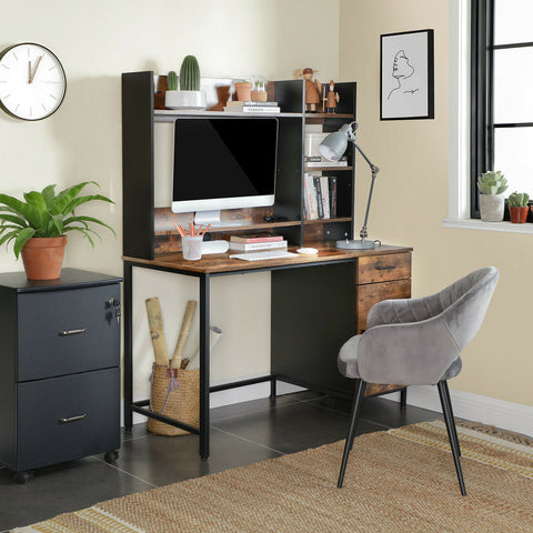 Industrial Rustic Office Desk