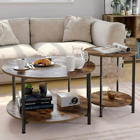 Nest of Industrial Coffee Tables