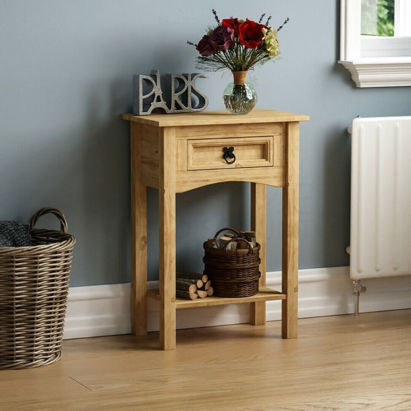 Solid Pine Console Table