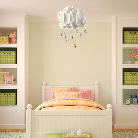 Childrens White Cloud Ceiling Light
