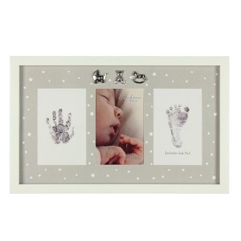 Baby Hand & Foot Ink Pad Photo Frame