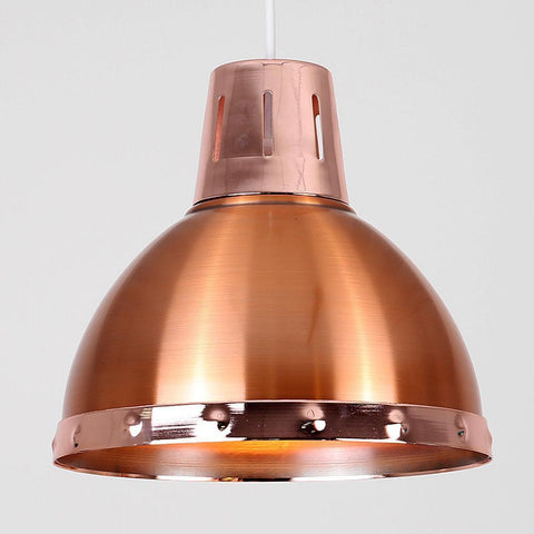 Copper Industrial Light Shade