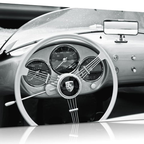 Porsche 356 Carrera Interior Canvas