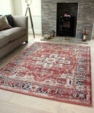 Traditional Distressed Rug