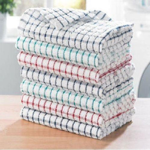 100% Cotton Tea Towels (Set of 6)