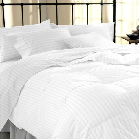 100% Egyptian Cotton Premium Striped Duvet Set