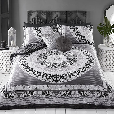 Patterned Swirling Duvet Set