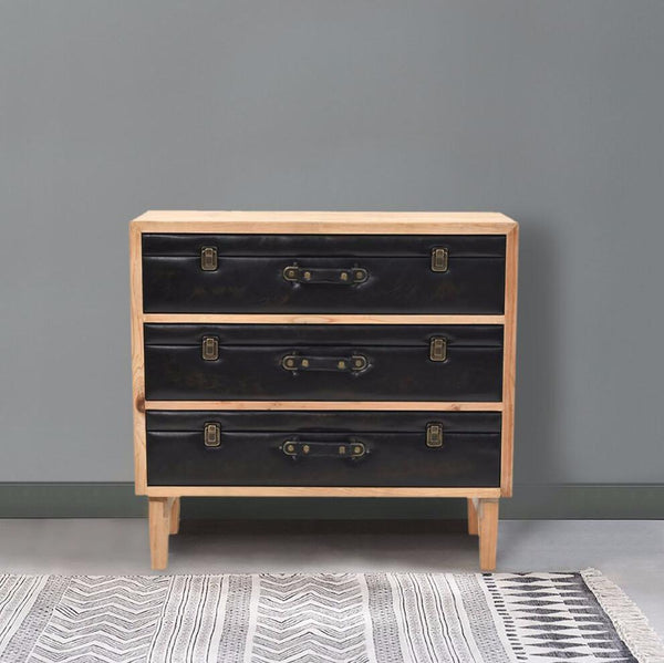 Leather Briefcase Drawers