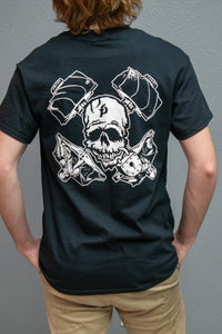 Black Shirt with Custom FP Artwork
