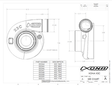 Load image into Gallery viewer, Xona Rotor 61•57S Ball Bearing Turbocharger