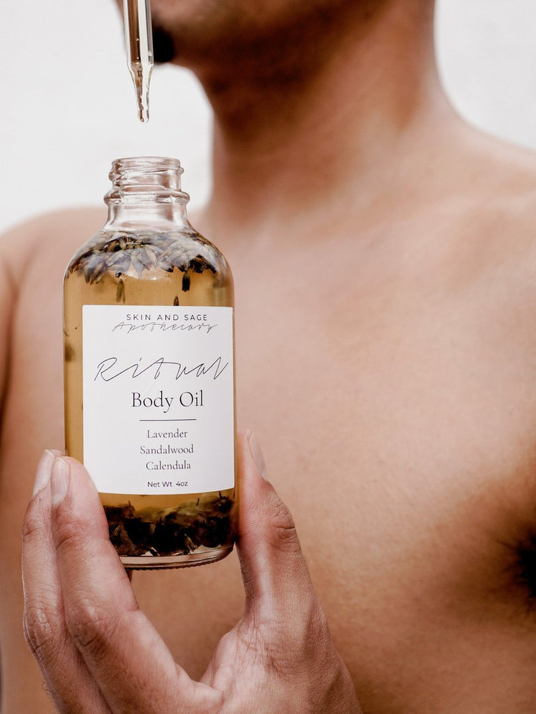 Ritual Body Oil - Skin and Sage Apothecary