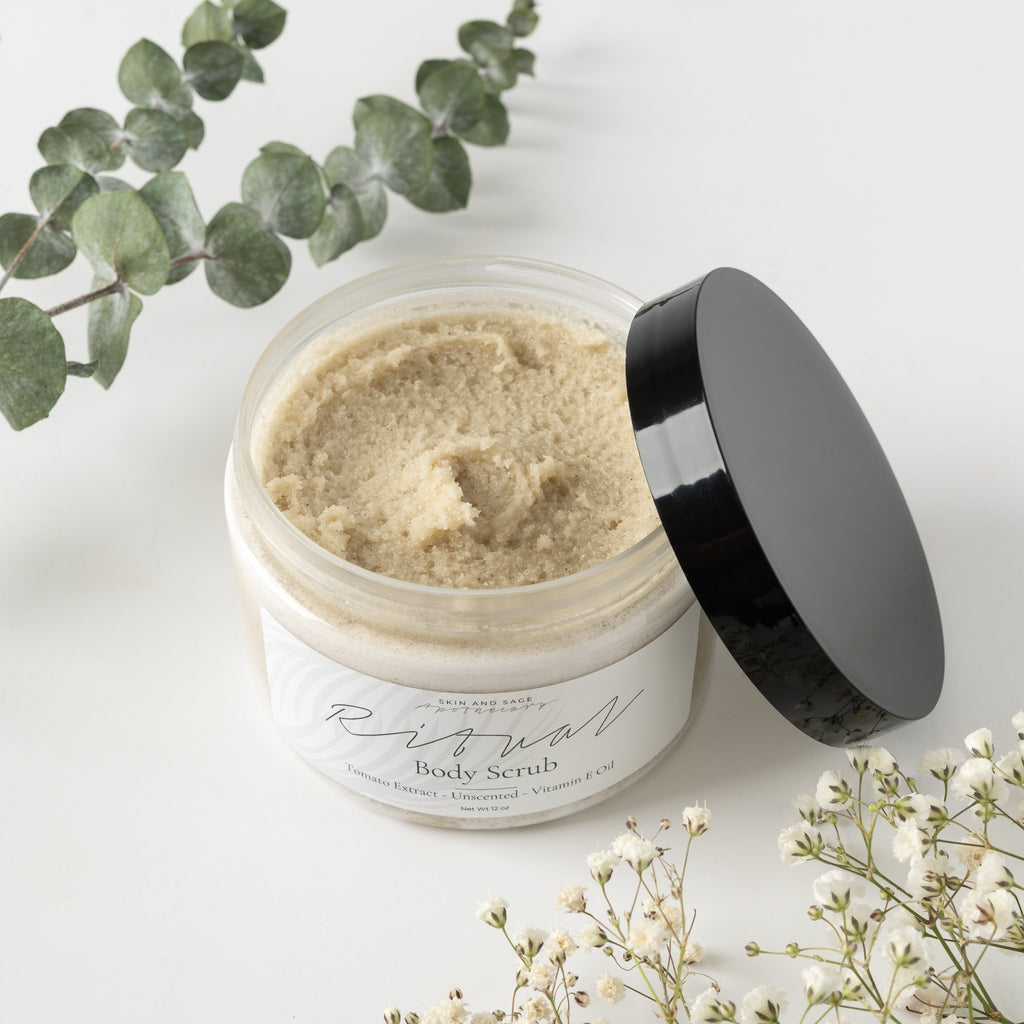 Unscented Ritual Body Scrub - Skin and Sage Apothecary