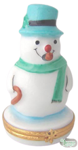 Load image into Gallery viewer, SKU# 3582 - Snowman with Blue Hat