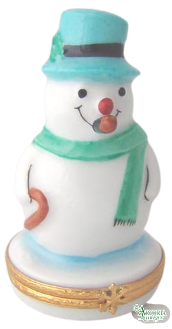 SKU# 3582 - Snowman with Blue Hat