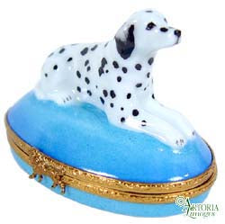 SKU# 3623 - Dalmatian On Blue Base