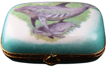 Load image into Gallery viewer, SKU# 5270 - Oblong with dolphins scene