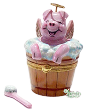 Load image into Gallery viewer, SKU# 7562 - Angelic Pig In Tub