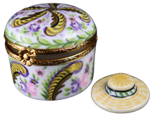 Load image into Gallery viewer, SKU# 7665 - Round Hat Box: Fontainebleau - (RETIRED)