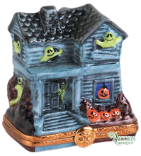 Load image into Gallery viewer, SKU# 7727 - Green Ghost Haunted House