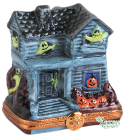 SKU# 7727 - Green Ghost Haunted House