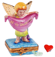 Load image into Gallery viewer, SKU# 7733 - Valentine Angel Bright Gold