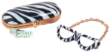 Load image into Gallery viewer, SKU# 7786 - Sunglasses In Case Zebra