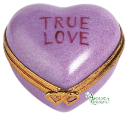 SKU# 7789 - Heart *True Love* Purple