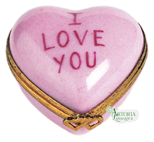 Load image into Gallery viewer, SKU# 7790 - Heart *I Love You* Pink