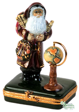 Load image into Gallery viewer, SKU# 7824 - Santa with globe