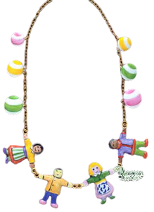 SKU# 8921 - Necklace Children of the World - (RETIRED) -