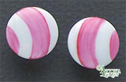 SKU# 8922 - Balloon Earrings: Pink - Clip On
