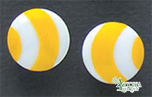 Load image into Gallery viewer, SKU# 8923 - Balloon Earrings: Yellow - Clip On