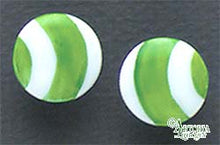 Load image into Gallery viewer, SKU# 8924 - Balloon Earrings: Green - Clip On