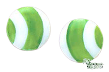 Load image into Gallery viewer, SKU# 8927 - Balloon Earrings: Green