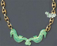 Load image into Gallery viewer, SKU# 8946 - Sea Horse Necklace: Green