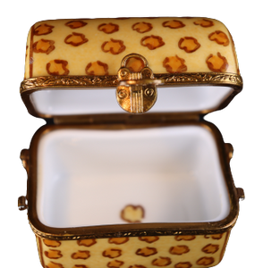 SKU# C048180 Travel Trunk Leopard