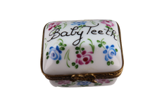 "Load image into Gallery viewer, SKU# C072016 Oblong Box ""Baby Teeth"""