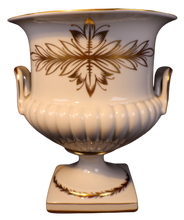 "Load image into Gallery viewer, SKU# 4533 Large Vase ""Second Empire Gold Pattern"""