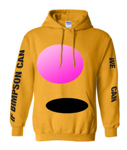 Load image into Gallery viewer, Gold Bimpson Hoodie - LIMITED EDITION (SOLD OUT)