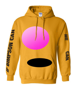 Gold Bimpson Hoodie - LIMITED EDITION (SOLD OUT)