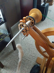 Spinning with the Majacraft Stylus Kit