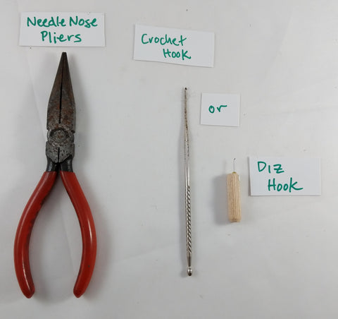 Tools you will need that aren't included in the kit