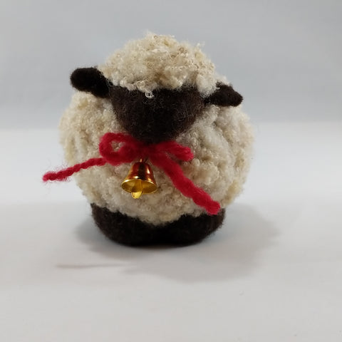 Felted Wool Sheep - Valais