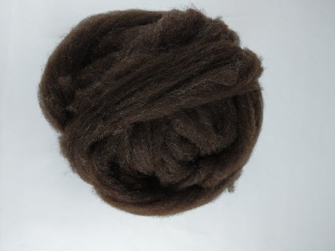 1 oz Soft Shetland Combed Top - Black
