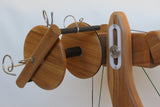 Majacraft Aura Spinning Wheel Hybrid Flyer and Jumbo Wood Bobbin