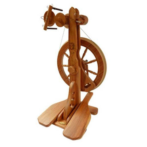 Majacraft Rose Spinning Wheel front