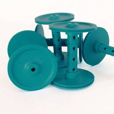 Majacraft Colored Plastic Bobbin - Atoll