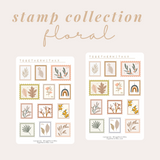Stamp Collection - Floral